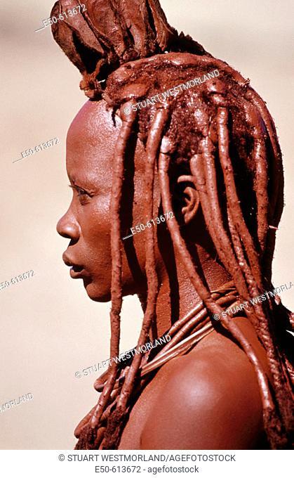 Himba woman. Namibia