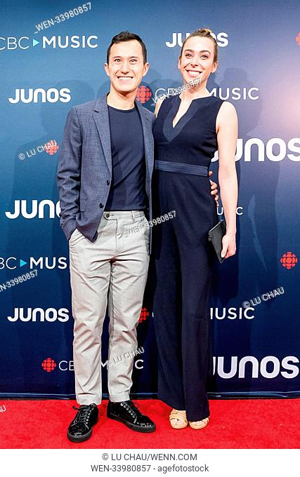 2018 JUNO Awards, held at the Rogers Arena in Vancouver, Canada. Featuring: Patrick Chan Where: Vancouver, British Columbia