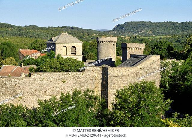 France, Aveyron, Causses and the Cévennes, Mediterranean cultural landscape of agro-pastoralism, listed as World Heritage by UNESCO
