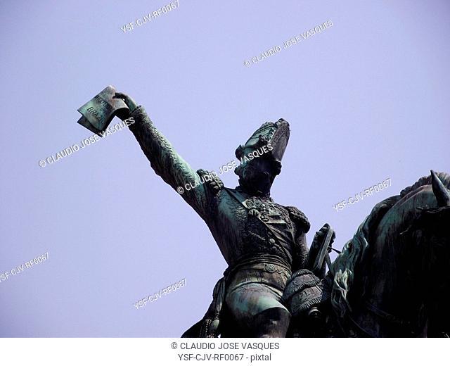 Statue of Dom Pedro I, Tiradentes, Rio de Janeiro