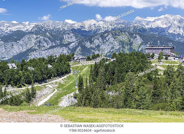Vogel Ski Resort, Triglav National Park, Ukanc, Upper Carniola, Slovenia, Europe