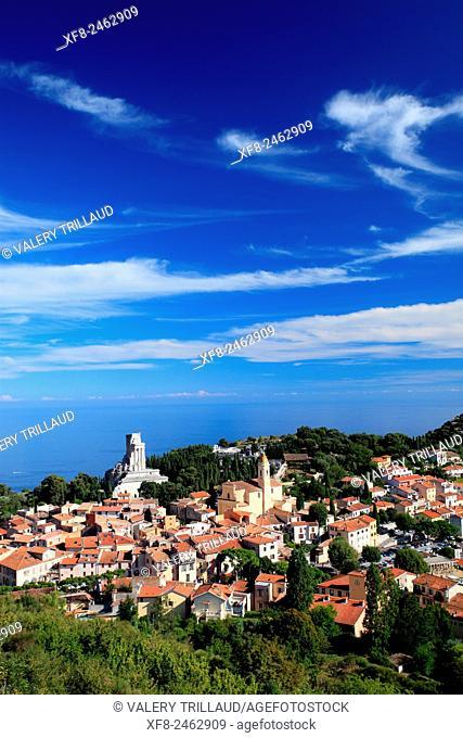 Village of La Turbie, Alpes-Maritimes, Côte d'Azur, French Riviera, France