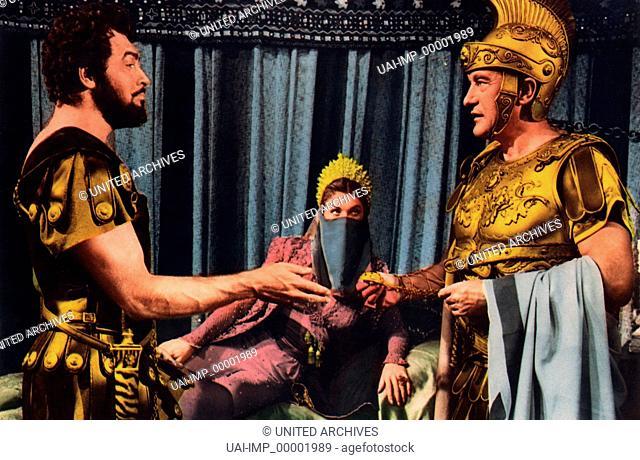 Jupiters Liebling, (JUPITER'S DARLING) USA 1954, Regie: George Sidney, HOWARD KEEL, ESTHER WILLIAMS, GEORGE SANDERS, Stichwort: Römer