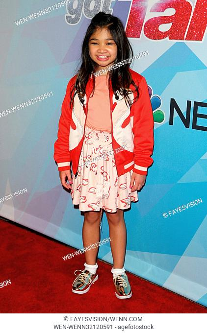 Premiere of NBC's 'America's Got Talent' Season 12 Featuring: Angelica Hale Where: Hollywood, California, United States When: 16 Aug 2017 Credit:...
