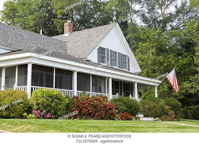 A home in Wellfleet, Cape Cod, Massachusetts, United States, North America