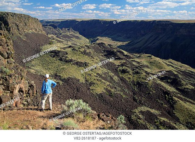 Owyhee Canyon Overlook, Owyhee Wild and Scenic River, Vale District Bureau of Land Management, Oregon