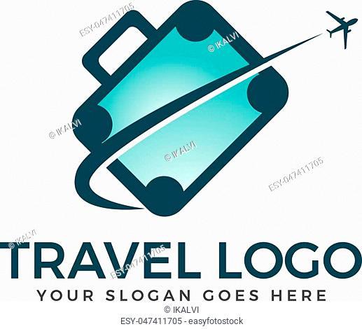Travel agency adventure creative sign