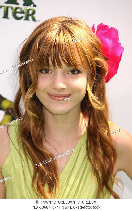 "Bella Thorne 05/15/10 """"Shrek Forever After"""" Los Angeles Premiere @ Gibson Amphitheatre, Universal City Photo by Megumi Torii/HNW / PictureLux (May 15"