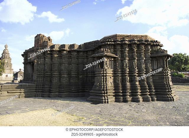 Right Side view, Daitya Sudan temple side view, Lonar, Buldhana District, Maharashtra, India