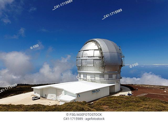Gran Telescopio Canarias  Roque de los Muchachos  La Palma  Canary Islands  Spain