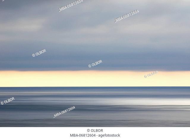 Faroes, light mood, sea, heaven