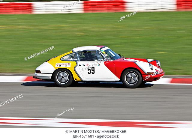 Race of post-war racing cars, Porsche, at the Oldtimer Grand Prix 2010 on the Nurburgring race track, Rhineland-Palatinate, Germany, Europe