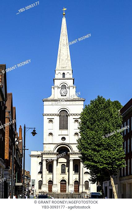 Christ Church, Spitalfields, London, United Kingdom