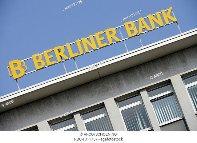 Berliner Bank, Innsbrucker Platz, Schoeneberg, Berlin, Deutschland