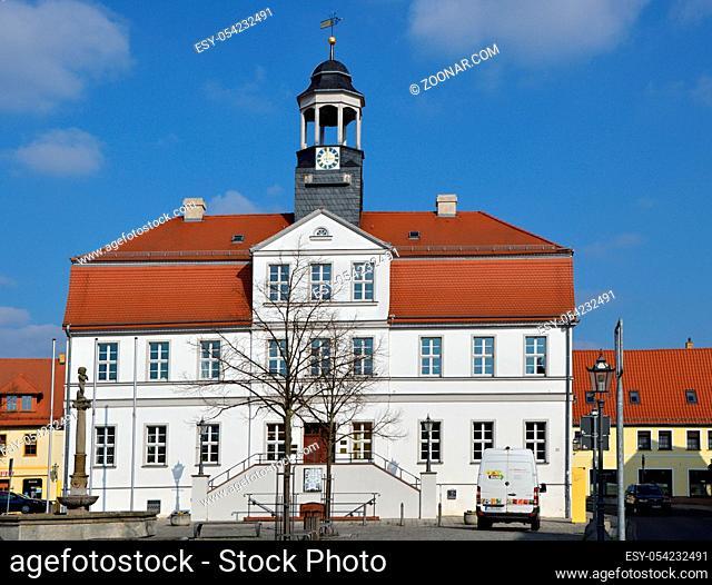 The Town of Bad Dueben, Saxony, Germany. Die Stadt Bad Düben, Sachsen, Deutschland