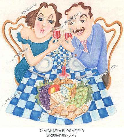 Romantic French Dinner