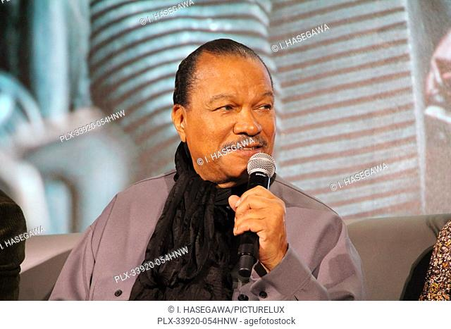 """Billy Dee Williams 12/04/2019 """"""""Star Wars: The Rise of the Skywalker"""""""" Press Conference held in Pasadena, CA. Photo by I. Hasegawa / HNW / PictureLux"""