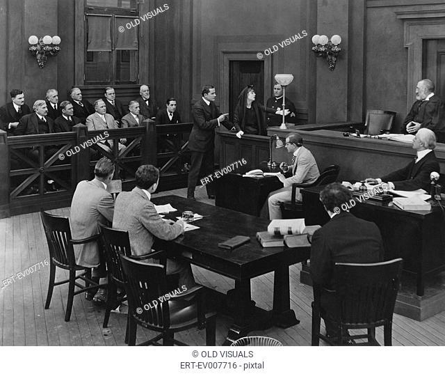 Courtroom drama