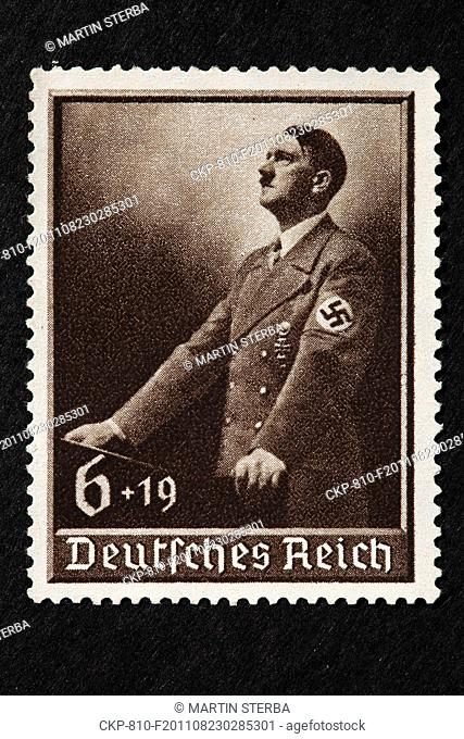 post, postage stamp, Adolf Hitler, Deutsches Reich, Schwabacher CTK Photo/Martin Sterba, Rene Fluger
