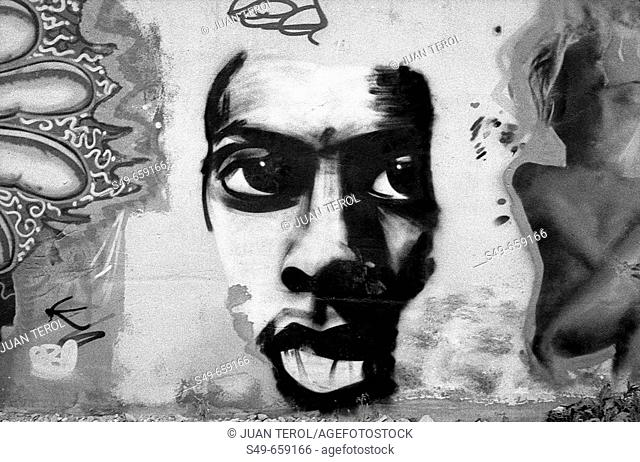 Grafitti. Valencia. Spain