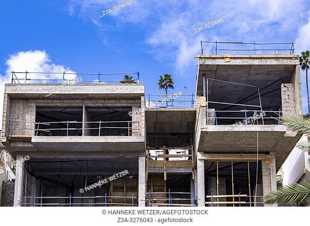 Construction site in Las Palmas de Gran Canaria
