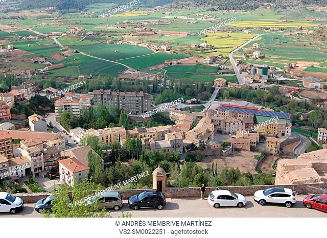 Landscapes of mountain in Cardona province of Barcelona
