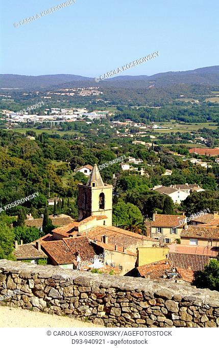 F, Europe, France, Cote D'Azur, Grimaud, castle