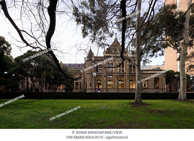 Conversion of the Gothic Revival Baldwin Spencer Building at the University of Melbourne serves as an information, resource and