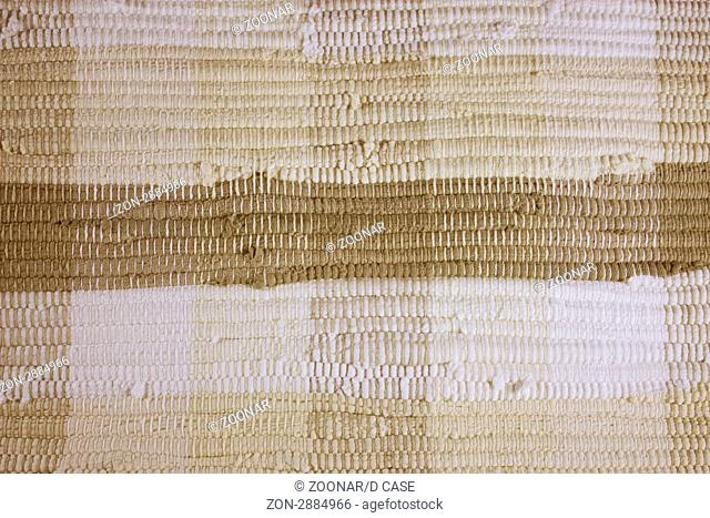 Loosely woven fabric to be used as a background