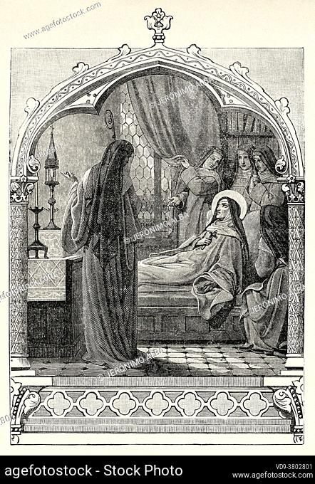 Sainte Julienne de Mont-Cornillon (Retinnes 1193 - Fosses-la-Ville 1258) He dedicated much of his life to promoting the Corpus Christi devotion