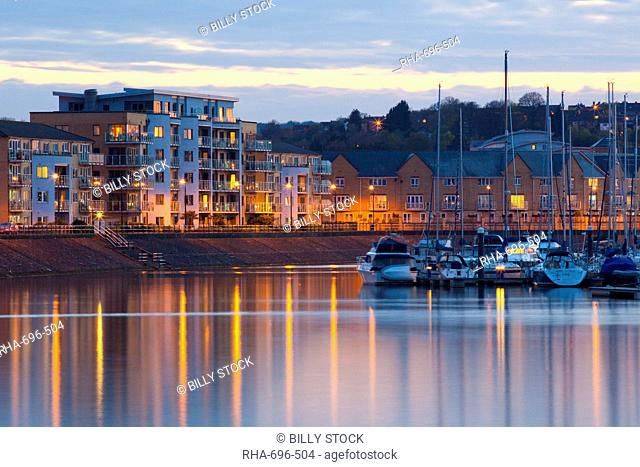 Penarth Marina, Cardiff, Wales, United Kingdom, Europe