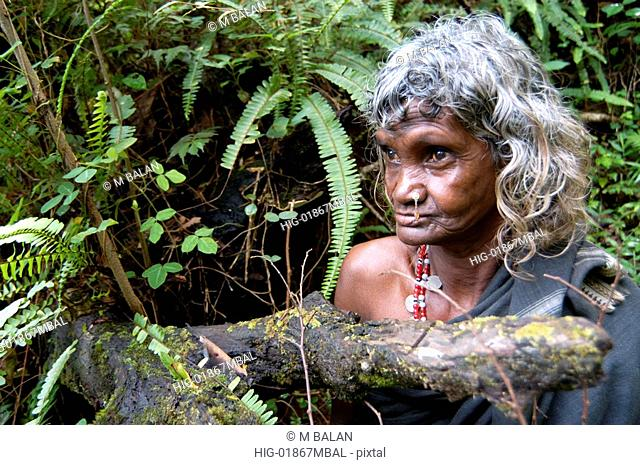 TRIBAL WOMAN OF WAYANAD DIST
