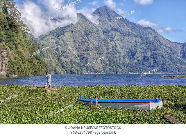 Danau Batur, Songan, Bali, Indonesia, Asia
