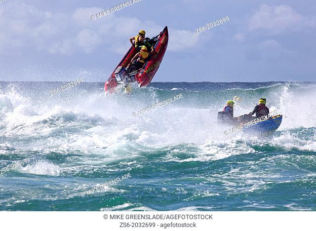 Thundercat racing at the Saltwater Festival, Salt Beach, New Tweed Coast, New South Wales, Australia
