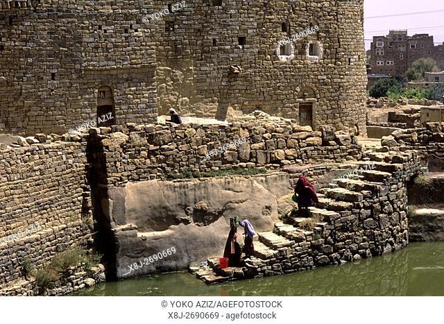 yemen, thula, acqueduct