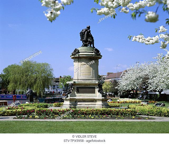 England, United Kingdom, Great Britain, Holiday, Landmark, Shakespeare, Statue, Stratford upon avon, Tourism, Travel, Vacation
