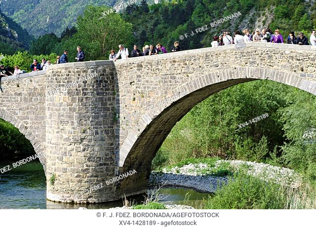 The Rafters Day in Burgui  Navarre, Spain  To commemorate and pay tribute to the rafters of the Roncal, Salazar and Aézkoa valleys a 'Rafters' Day' was...