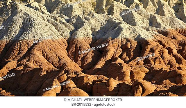 Vermilion Cliffs, various strata of the rimrocks, toadstool hoodoos, rimrocks, Grand Staircase Escalante National Monument, GSENM, Utah