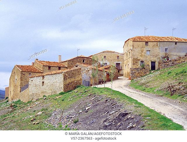 Small village in Tierras Altas, Soria province, Castilla Leon, Spain