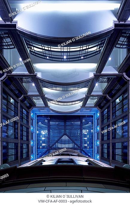 atrium, looking up - Austen Friars, City of London, LONDON, UNITED KINGDOM, Architect