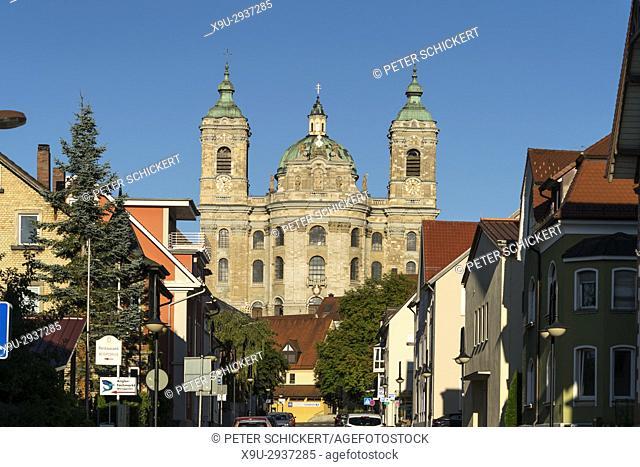 Basilika St. Martin, Wahrzeichen der Stadt Weingarten, Landkreis Ravensburg, Baden-Württemberg, Deutschland | Abbey Church of St
