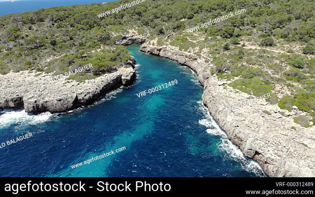 cala Beltran, Llucmajor, Mallorca, Balearic Islands, Spain