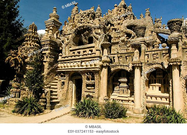 "An eccentric French postman built this """"palace"""" in his spare time"