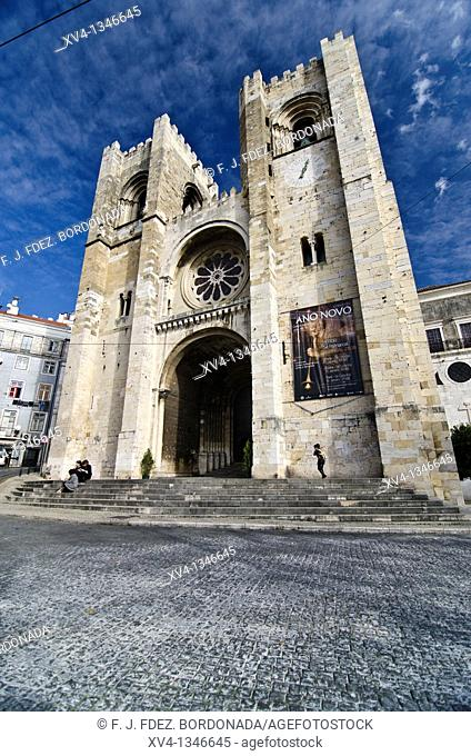 Cathedral of Lisboa  Portugal  Europe