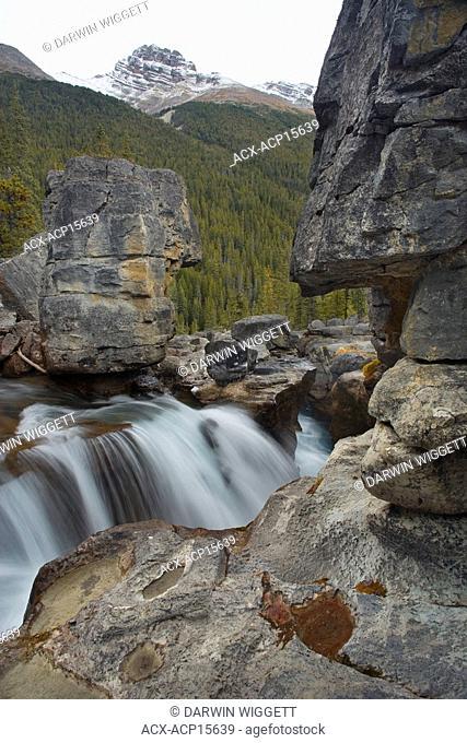Nigel Creek above Panther Falls, Banff National Park, Alberta, Canada