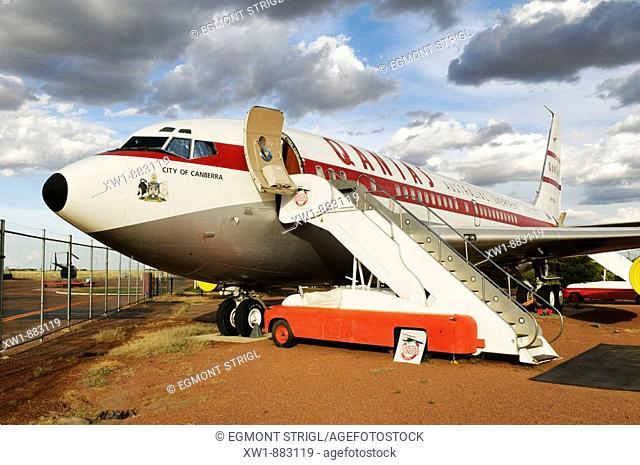 Boeing 707 at Qantas Founders Museum, Longreach, Queensland Outback, Australia