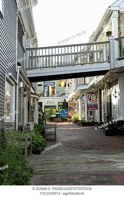 Shops in Provincetown, Massachusetts, USA