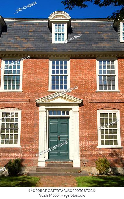 Derby House, Salem Maritime National Historic Site, Massachusetts