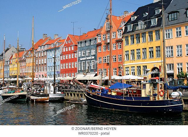 Nyhavn. Copenhagen