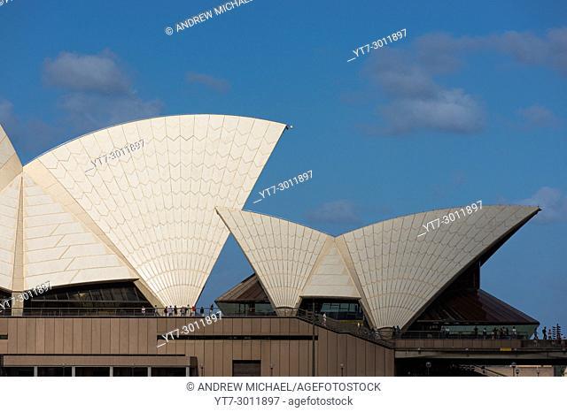 Sydney Opera house sails. Sydney, NSW, Australia